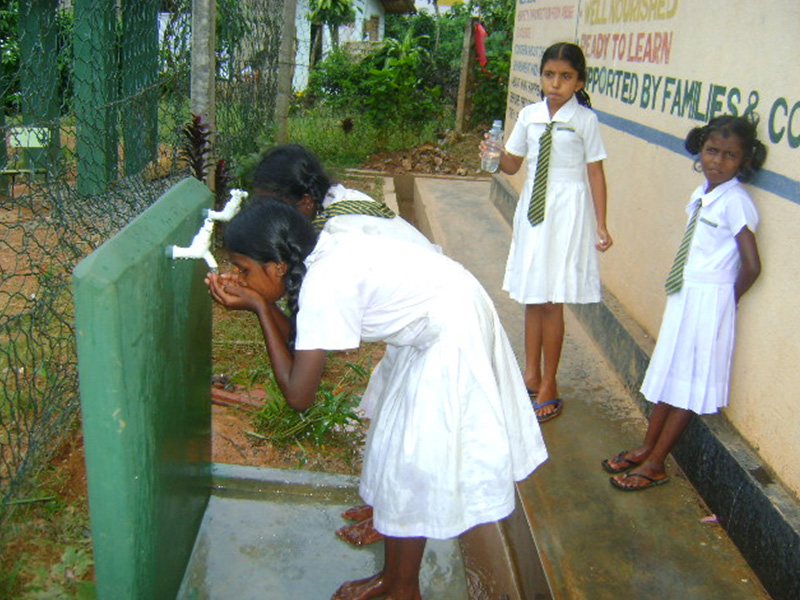 Water Supply in Palmadulla School