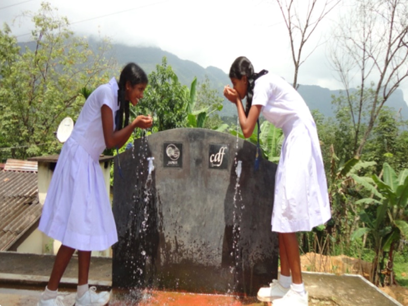 Water Supply Project  In Dela Tamil School